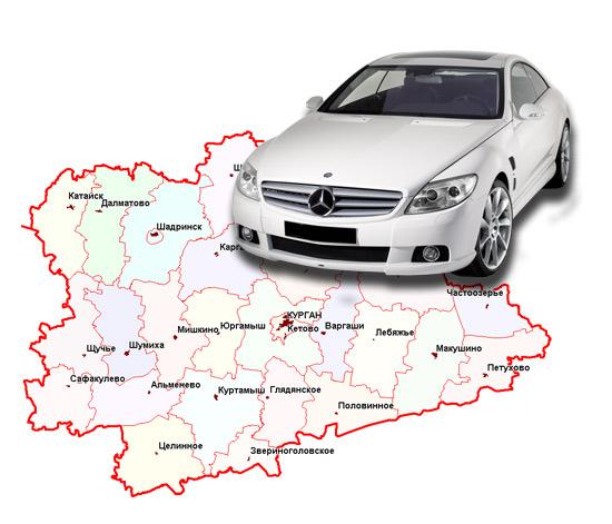 Калькулятор транспортного налога Курган и Курганская область