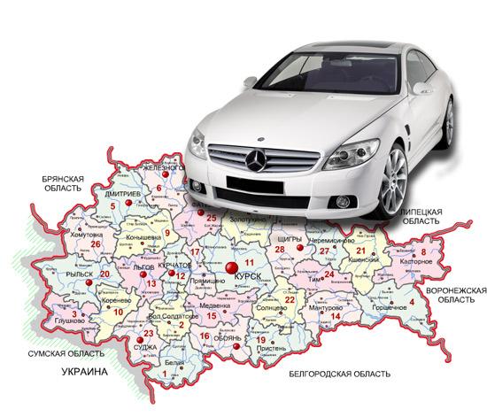 Калькулятор транспортного налога Курск и Курская область