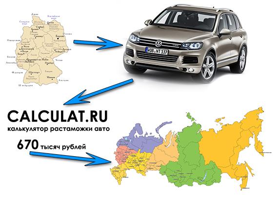 Как растаможить авто из германии в 2013 году тягача